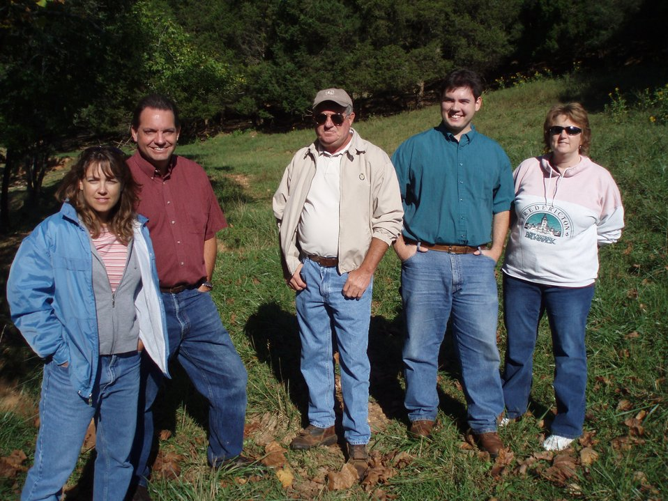 USFWS Biologists and Partners at a habitat restoration site