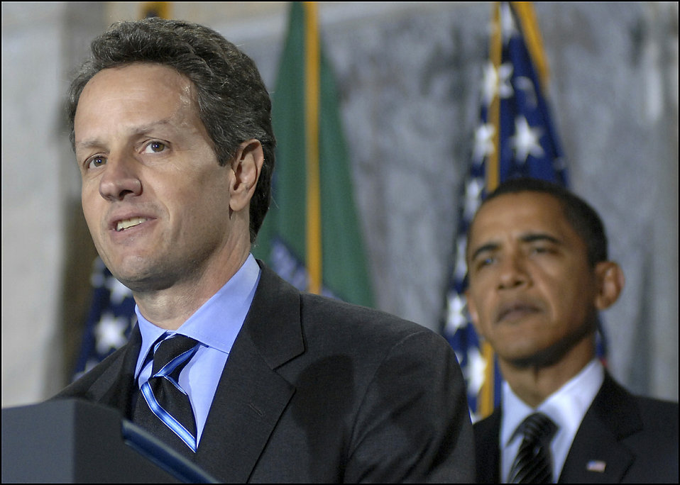 Secretary Geithner remarks at his swearing-in ceremony