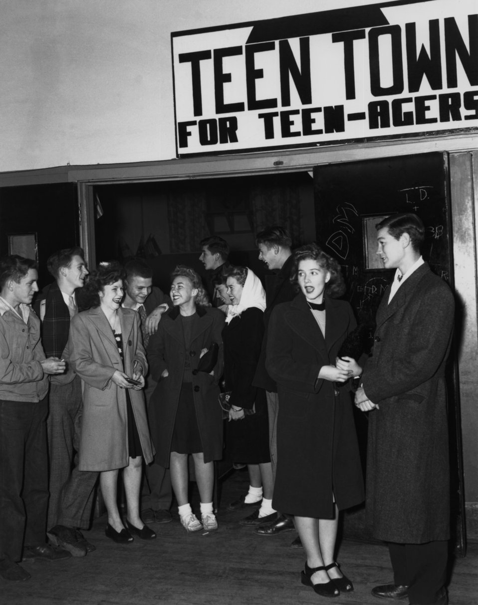 Teen Town Central Recreation Hall Oak Ridge 1945