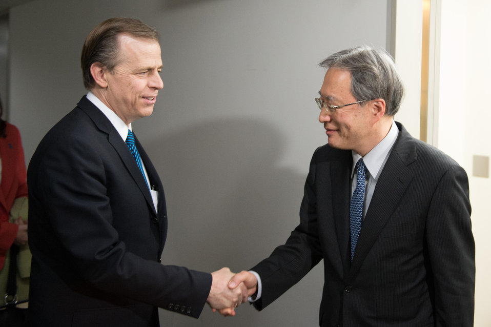Special Representative Davies Meeting at Japan's Foreign Ministry