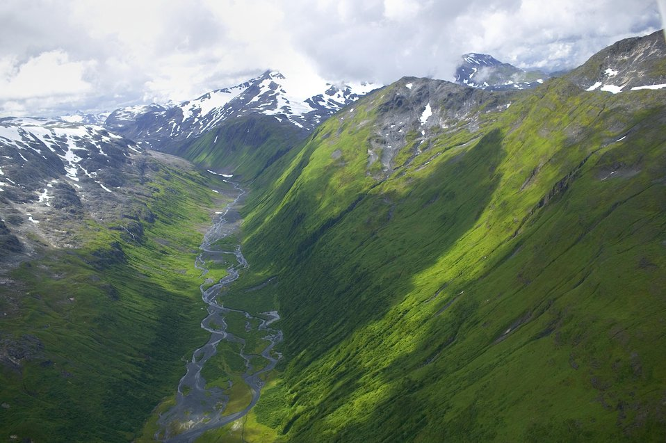 Scenery of Kodiak Refuge