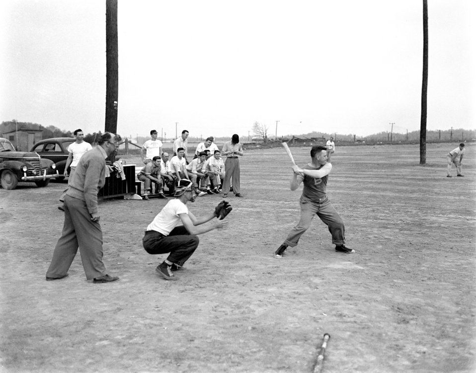 Softball Oak Ridge 1947
