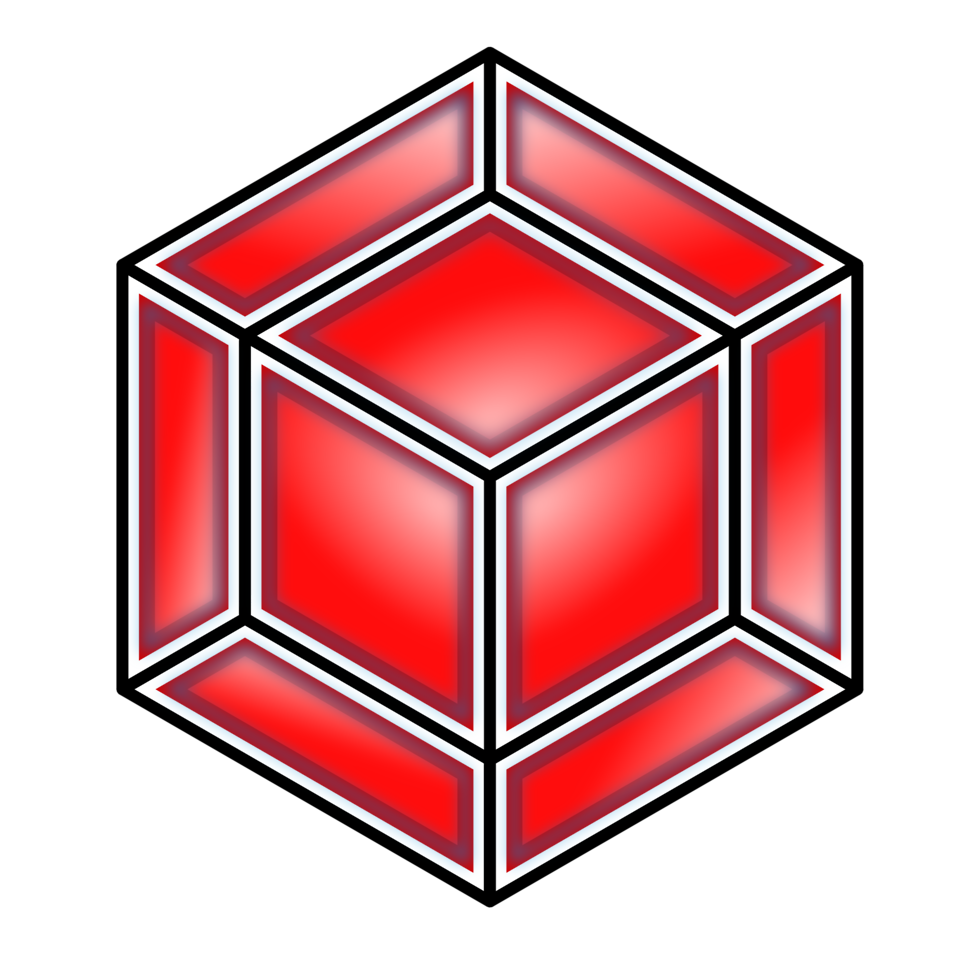 Hyper Cube, Red