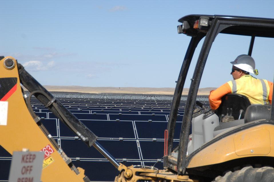 Work at Topaz Solar 2