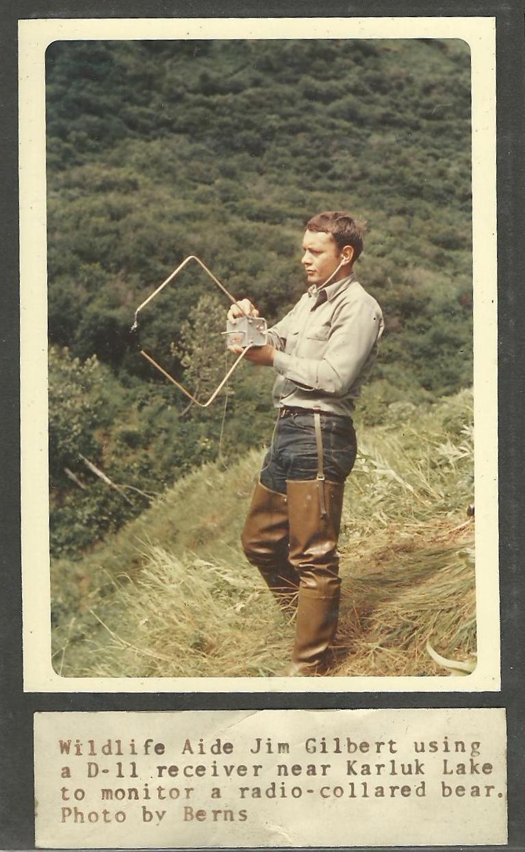 (1968) Radio Collar Monitoring