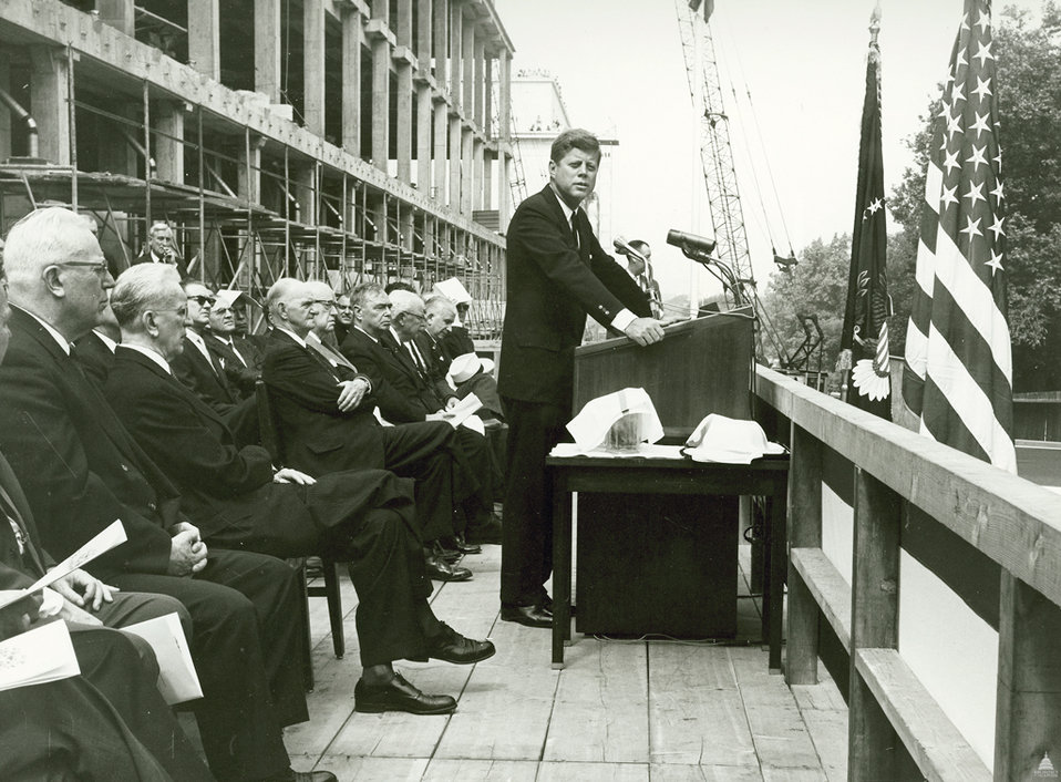 Rayburn House Office Building Cornerstone Ceremony