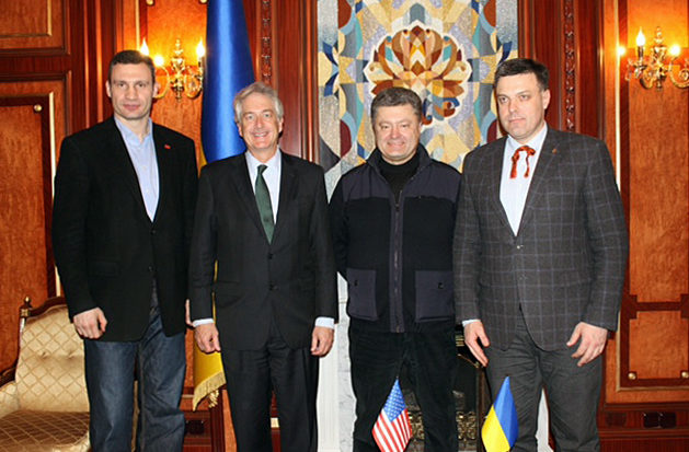 Deputy Secretary Burns Meets With Key Ukrainian Political Leaders