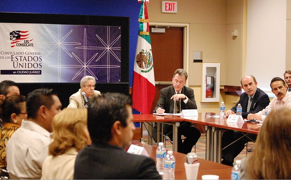 Assistant Secretary Valenzuela Participates in a Working Group