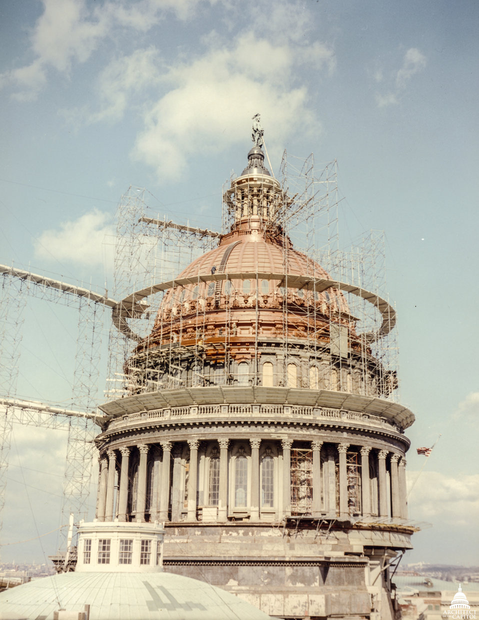 Dome with Scaffold 1960