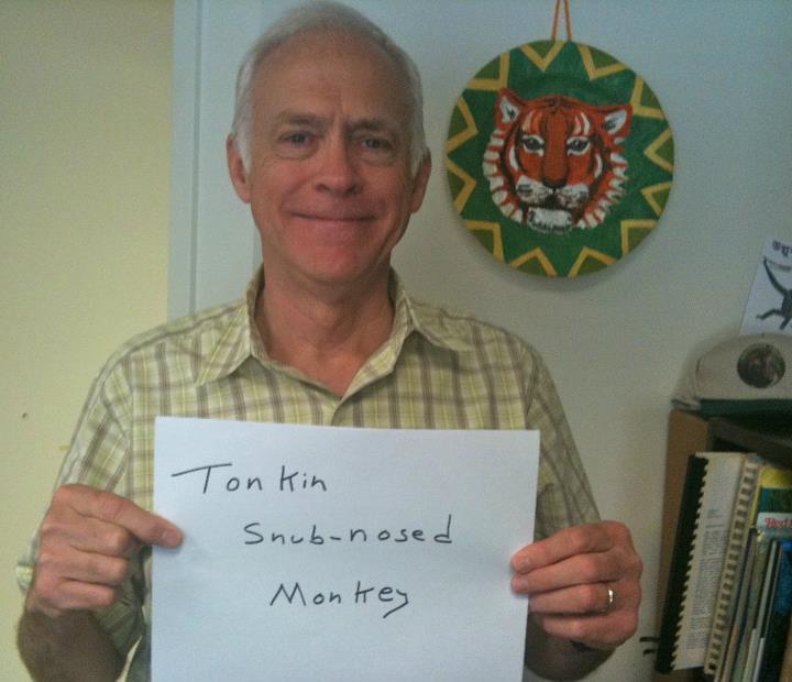 Fred Bagley, 'Tonkin Snub-Nosed Monkey,' Credit: USFWS