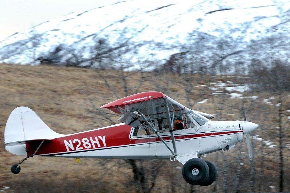 Takeoff in Alaska