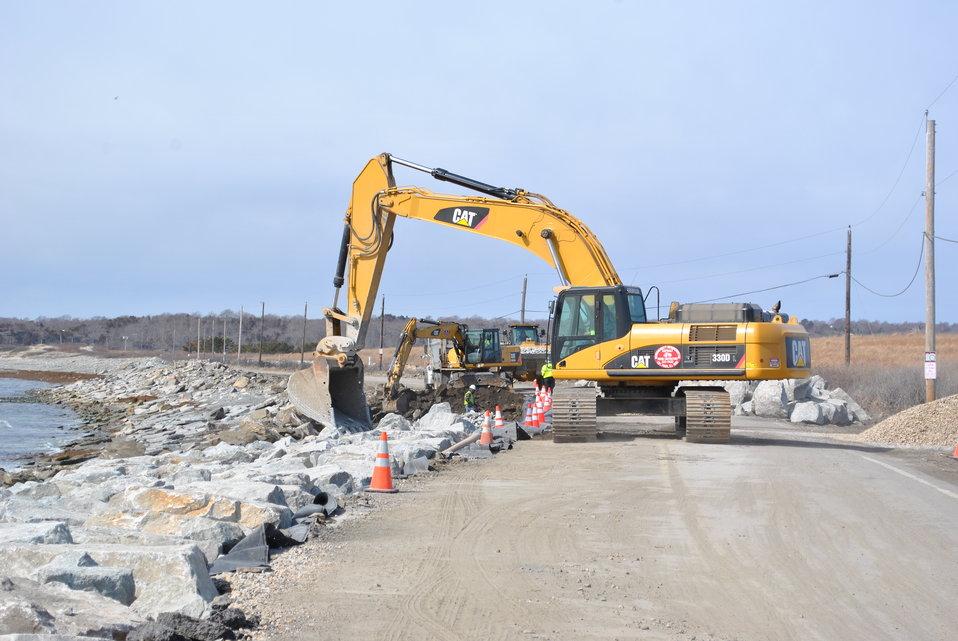 Repairs begin at Sachuest Point Road (RI)