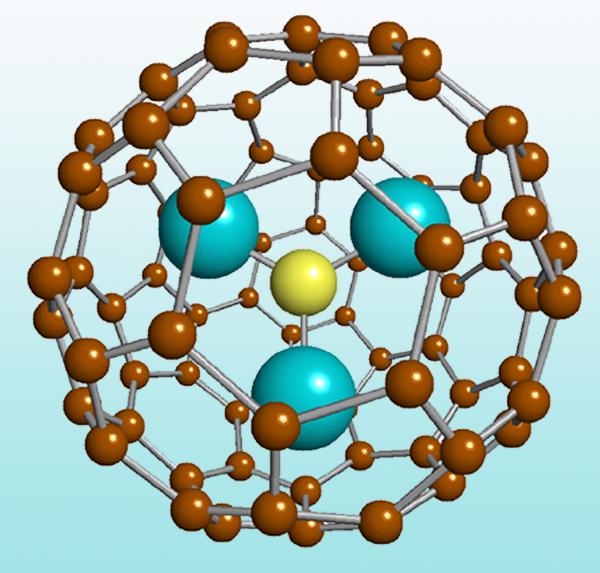 Trimetasphere molecule