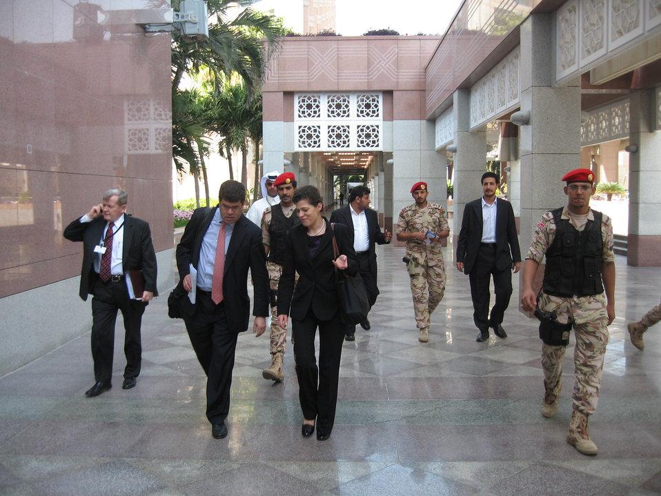 Deputy Secretary Wolin in Jeddah, Saudi Arabia.