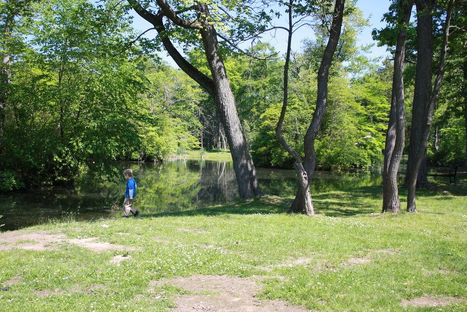 Pond at Keney Park