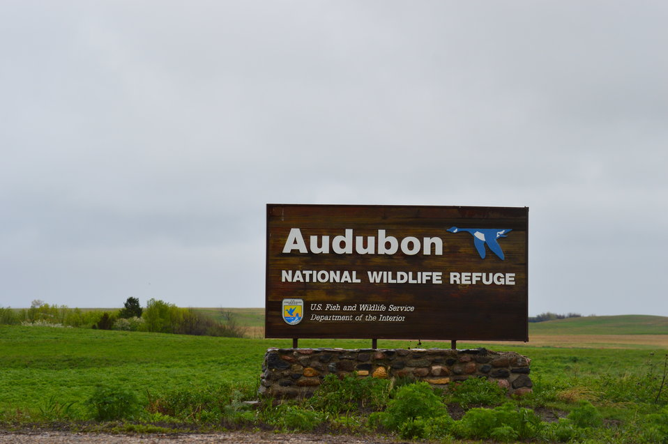 Audubon NWR sign