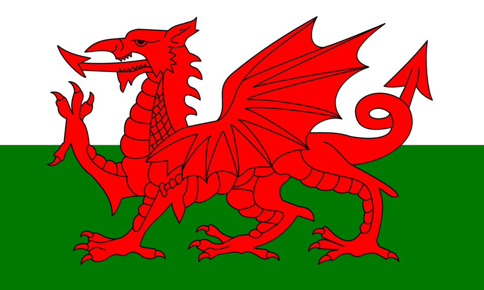 Flag of Wales - United Kingdom