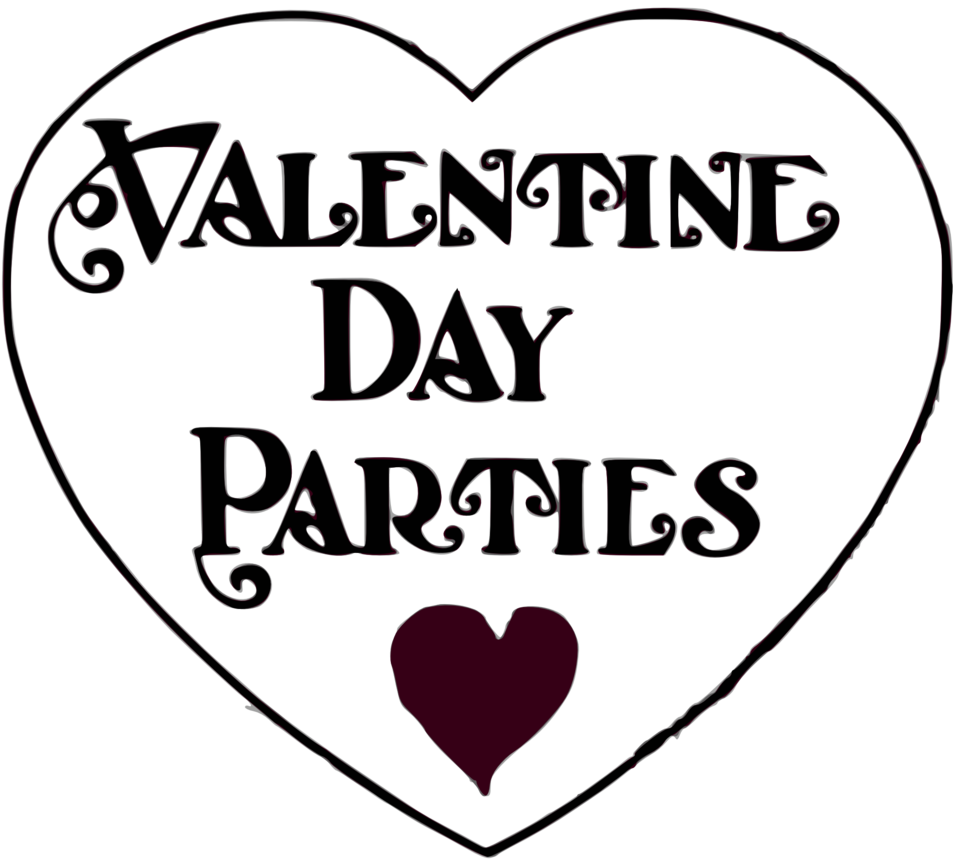 Valentine Day Parties - title