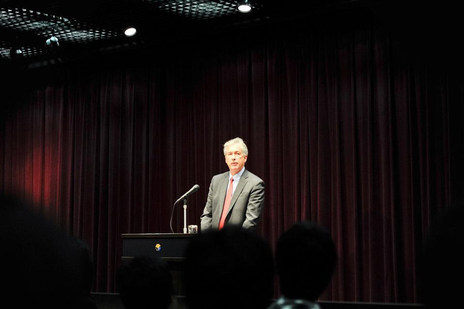 Deputy Secretary Burns Discusses Increasing U.S. Engagement in the Asia Pacific Region