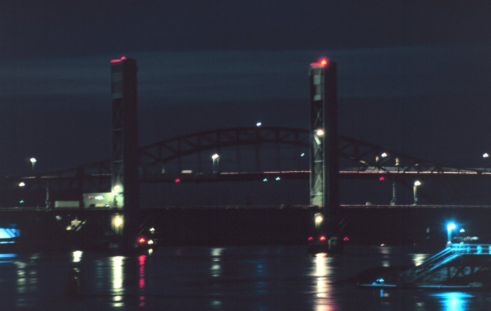 A Portsmouth Harbor Bridge.
