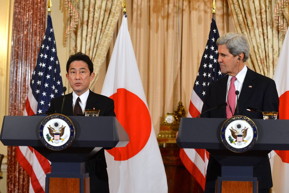 Secretary Kerry and Japanese Foreign Minister Kishida Deliver Remarks