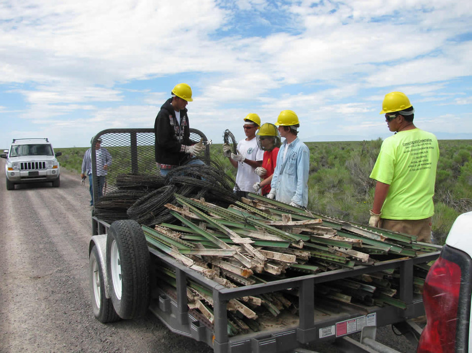 Youth Conservation Corps at Baca National Wildlife Refuge