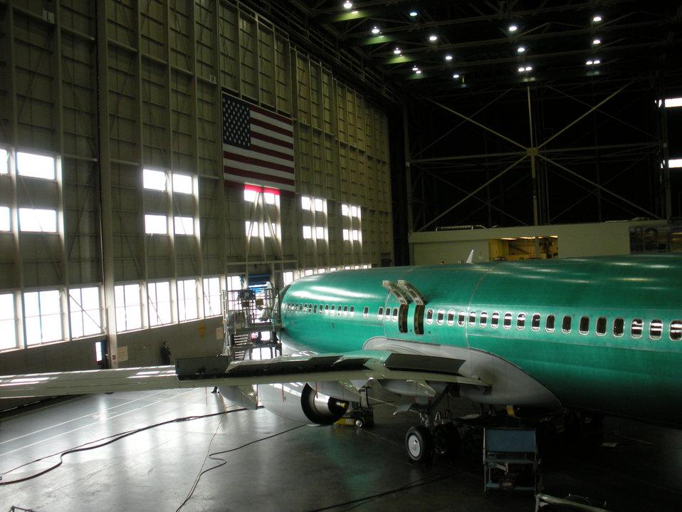 Boeing Plant in Renton, 5/18/2010