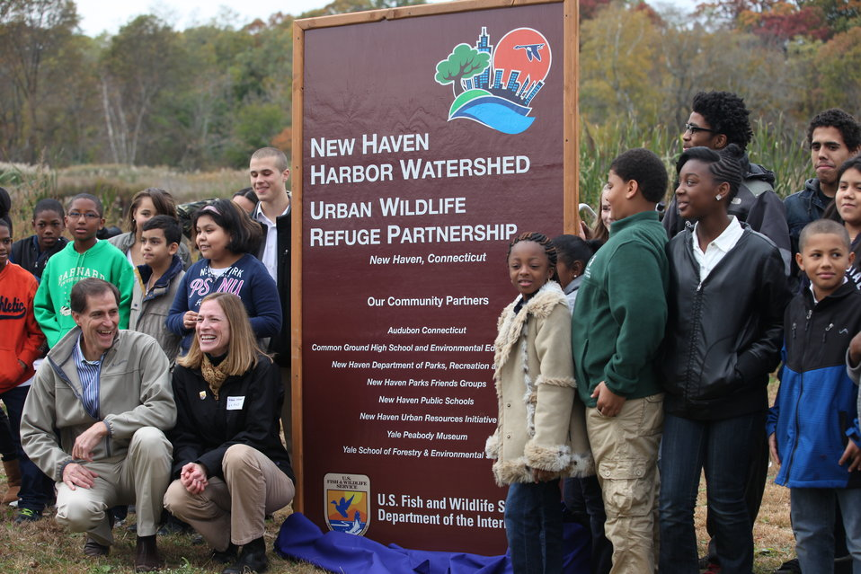 Designating the New Haven partnership