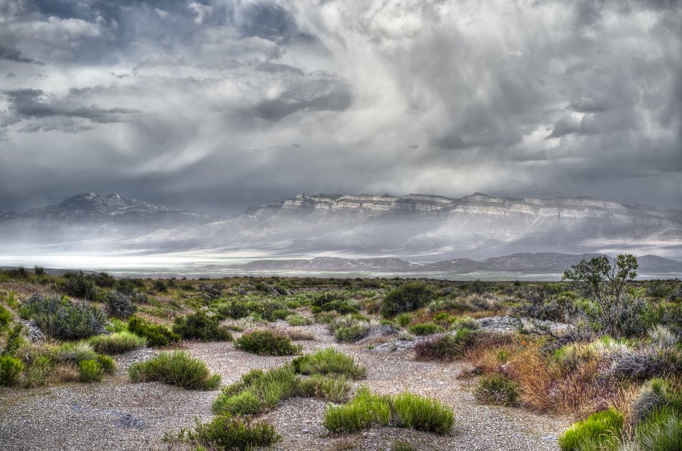 1st Place - Spring Storm in the Great Basin