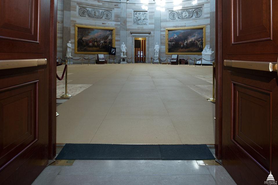 Capitol Dome Restoration - Rotunda Protection Work