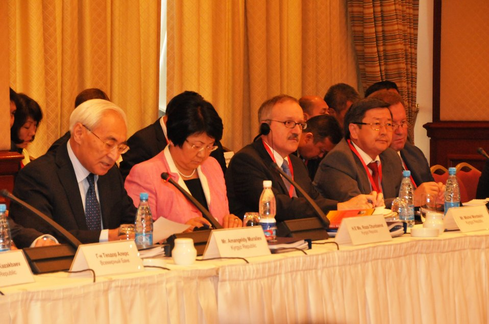 Kyrgyzstan President Otunbayeva Participates in International Donors' Conference for Kyrgyzstan