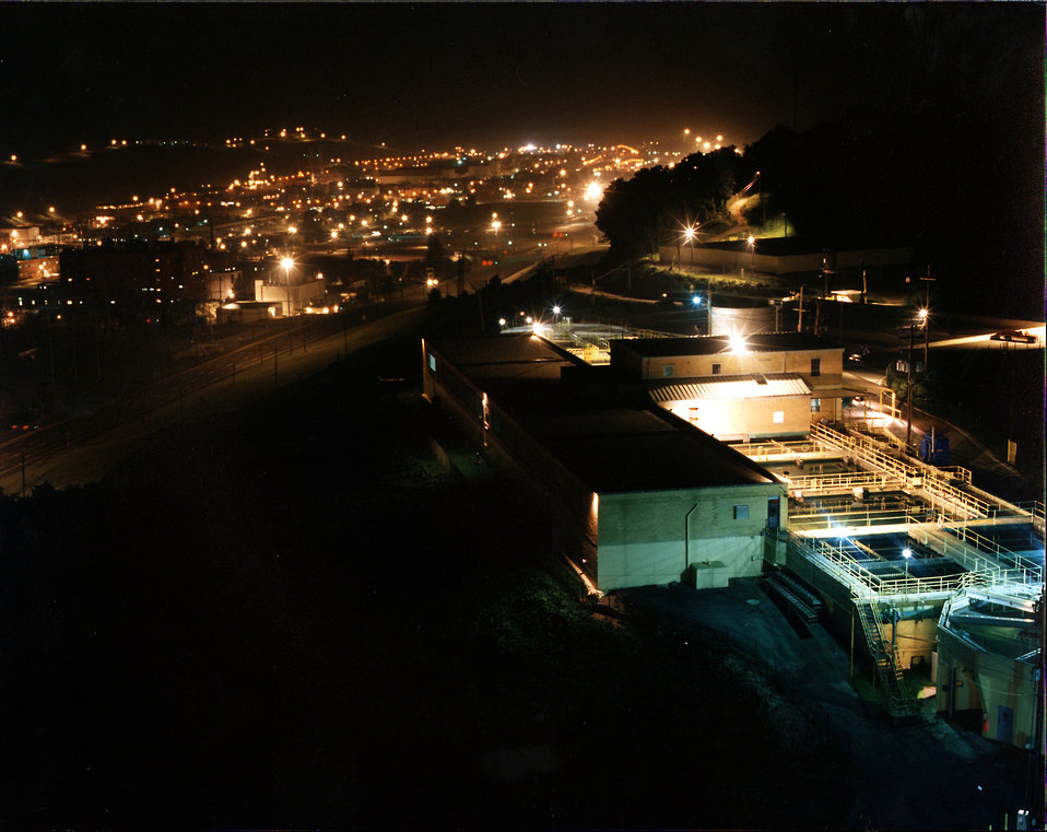 Y-12 Plant at Night