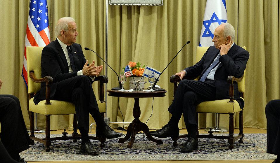 Vice President Biden Meets With Israeli President Peres