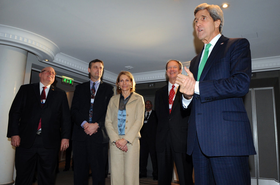 Secretary Kerry Shows Gratitude to Employees who Helped Support the Munich Security Conference