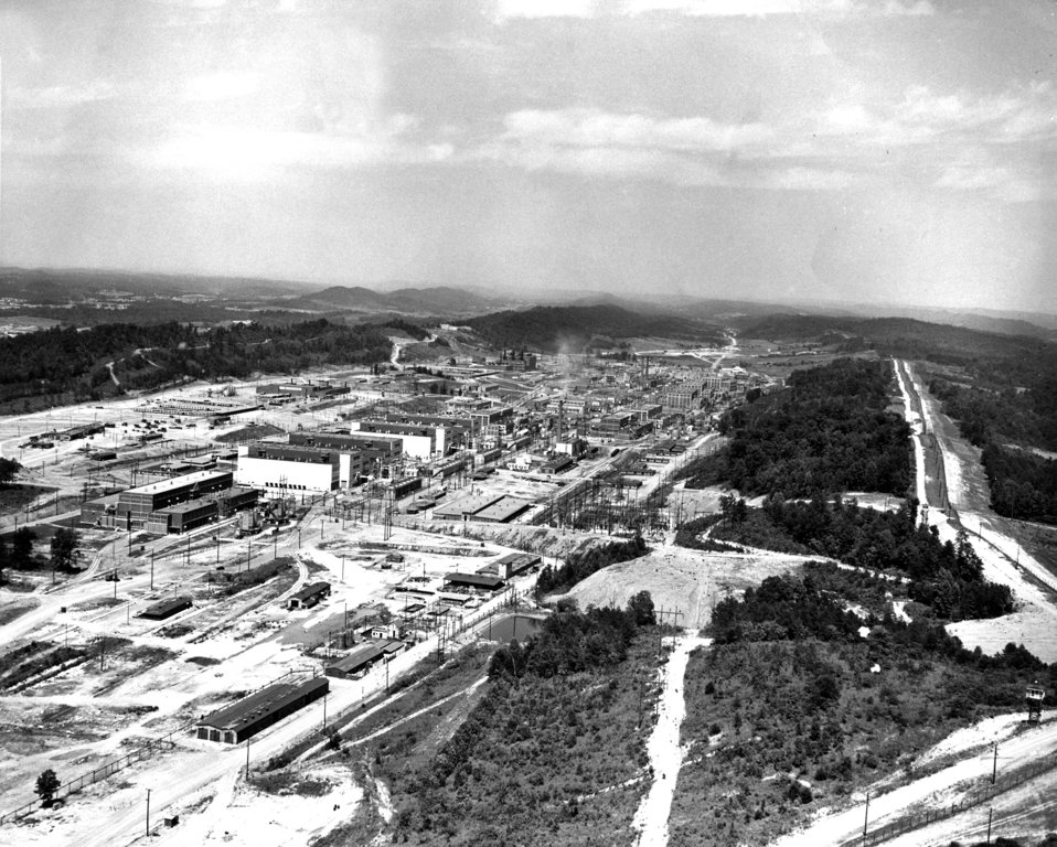 Y-12 Aerial View Oak Ridge 1947