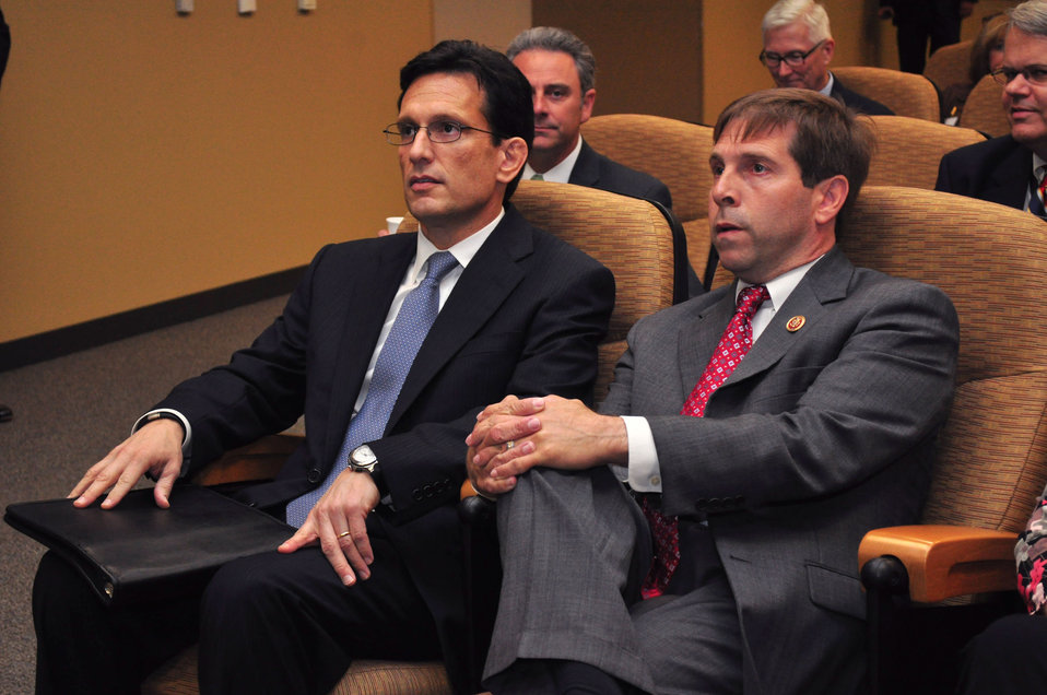 Tennessee Valley Corridor Summit Oak Ridge Congressman Eric Cantor Majority Leader and  Congressman Chuck Fleischmann