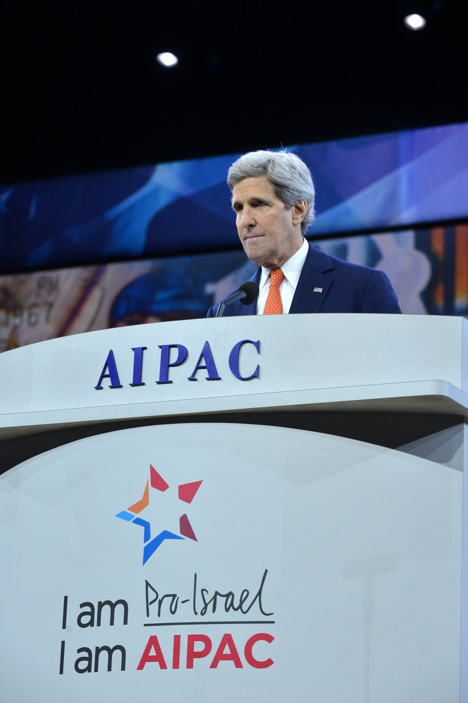 Secretary Kerry Delivers Remarks at the American Israel Public Affairs Committee Conference