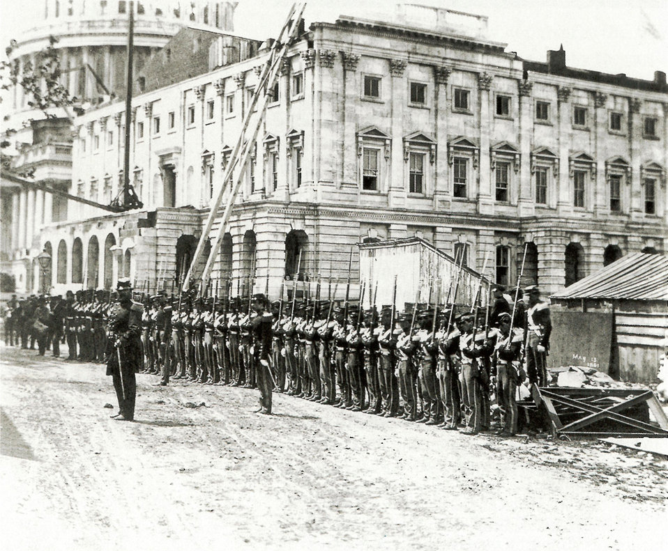 Troops at the U.S. Capitol