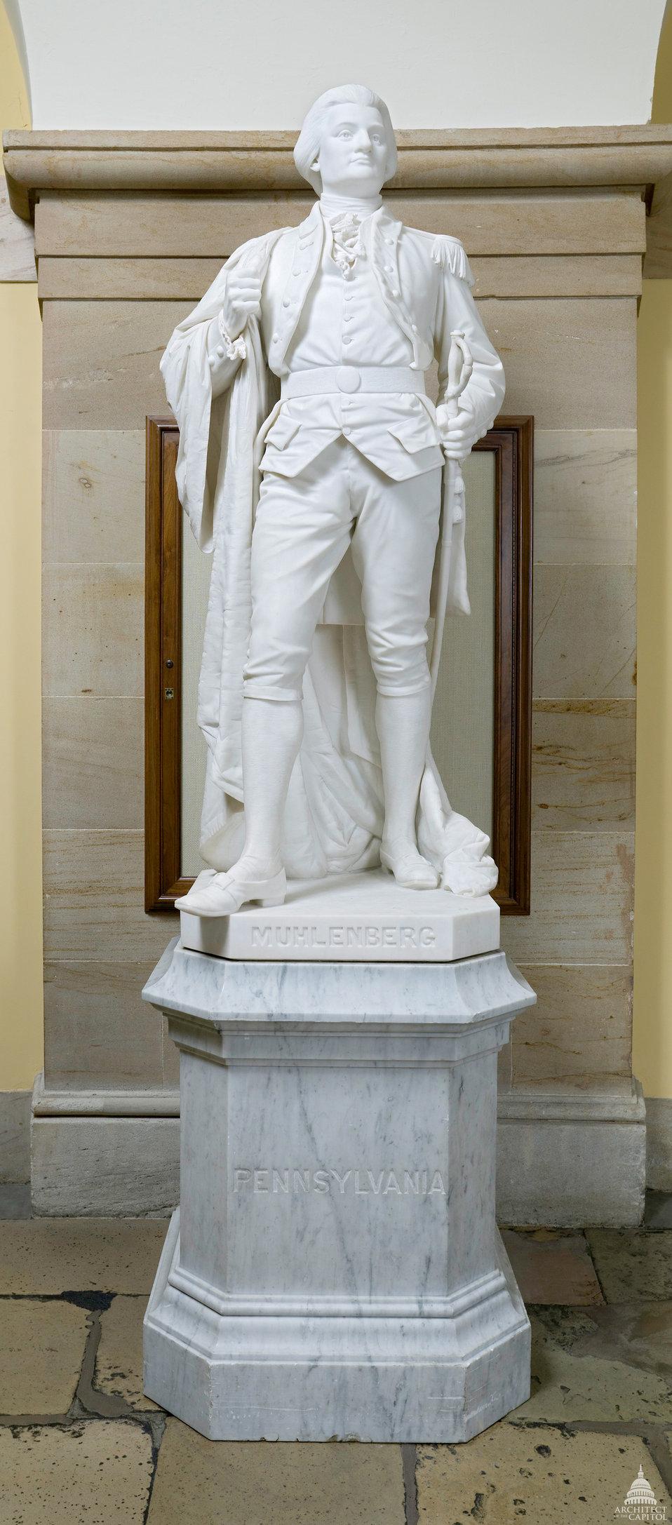 John Peter Gabriel Muhlenberg Statue