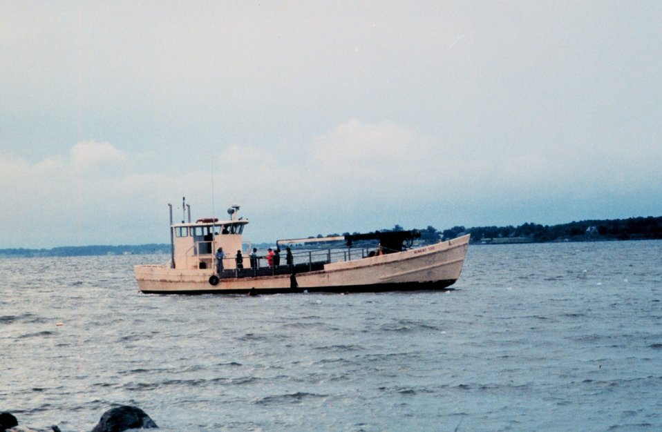 'Buy boat' ROBERT LEE off the University of Maryland Horn Point Environmental Laboratory on the Choptank River.  Used by the Oyster Recovery Partnership, Partnership to transplant oyster spat to permanent oyster beds in the Chesapeake Bay.