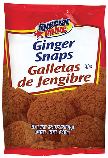 RECALLED – Ginger Snaps Cookies