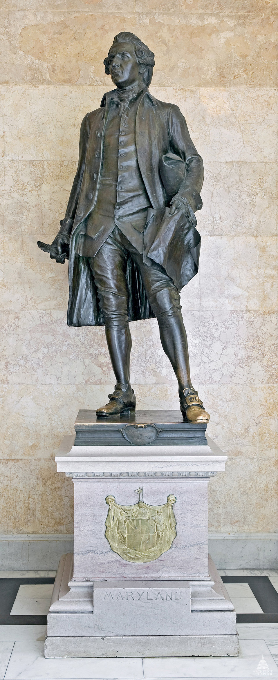 Charles Carroll Statue