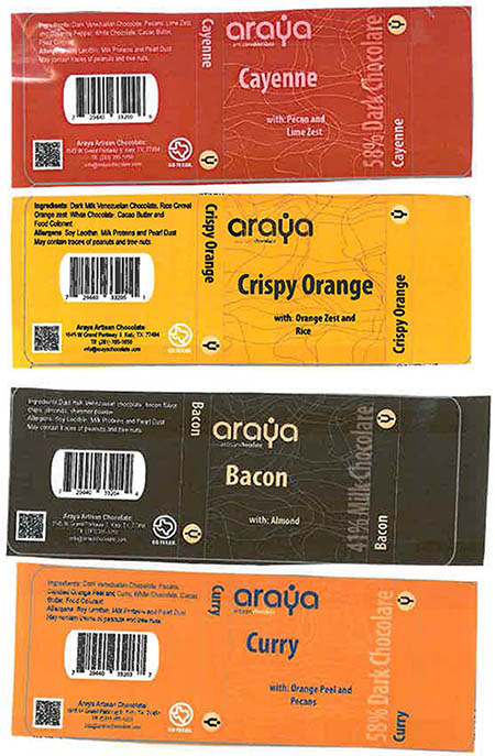 RECALLED – Chocolate Bars, Marshmallows, Dry Fruits, and Chocolate Gift Boxes