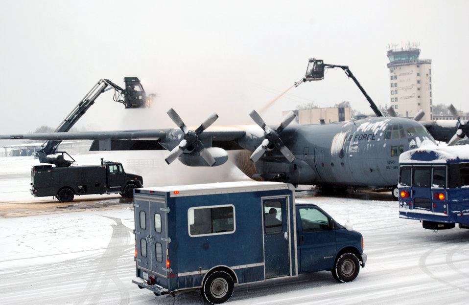 De-ice de-plane