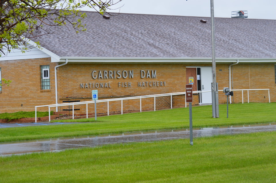 Garrison Dam National Fish Hatchery main building