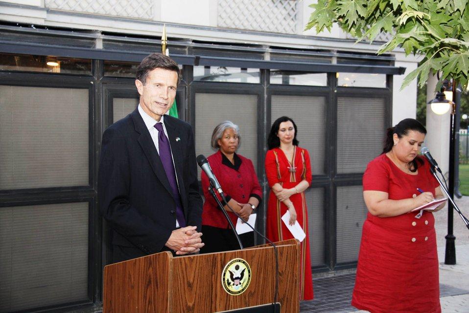 Assistant Secretary Blake Delivers Remarks at CMR Reception
