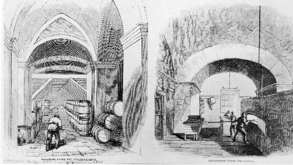 Capitol Subbasement 1861