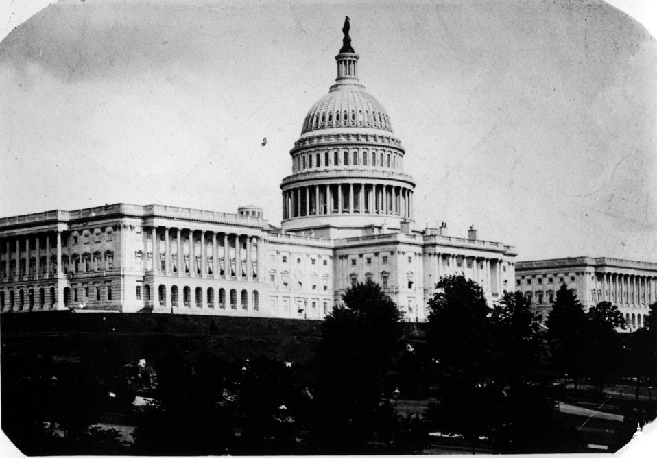 Early Photograph of the Capitol
