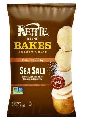 RECALLED - Kettle Brand Bakes Sea Salt