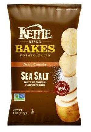 RECALLED - Kettle Brand Bakes Sea Salt